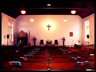 Sanctuary of New Providence Church